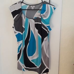 EUC Worthington blouse M